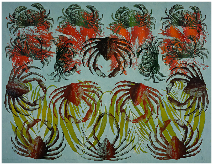 Composition with Crabs and Seaweed, 2000