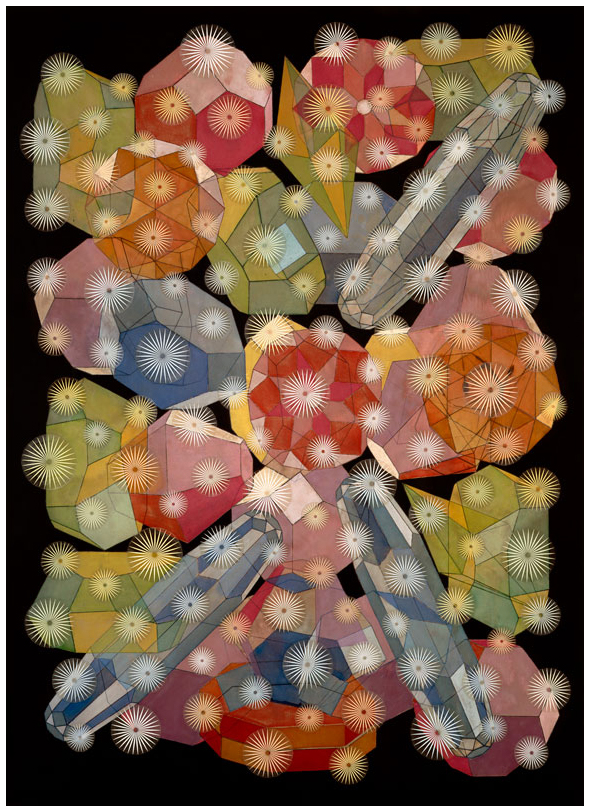 Composition with Gemstones, 2001